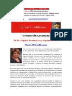 brousse mh-De la religión, las mujeres y el psicoanálisis