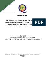 Buku III (Lam-ptkes) Borang Akreditasi Tht-kl v 251016