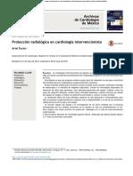 Protección Radiológica en Cardiología Intervencionista