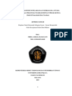 35438 ID Efektivitas Hukum Pelaksanaan Kerjasama Antara Satuan Kerja Perangkat Daerah Den