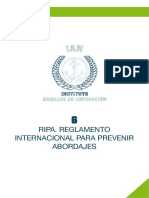 RIPA Reglamento Internacional Para Prevenir Abordajes