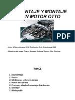Desmontaje y Montaje de Un Motor Otto