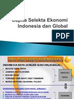 Capita Selekta Ekonomi Indonesia Dan Global