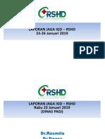Monrep Tgl 23-26 January 2019 Bismilah