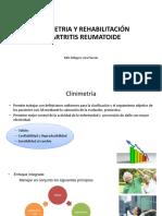 Clinimetria y Rehabilitacion en AR