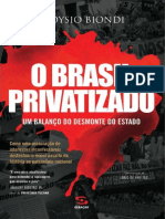 O Brasil Privatizado - Aloysio Biondi