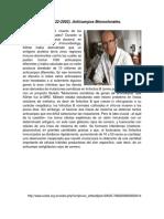 Premios Nobel de Inmunología