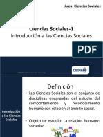 Ciencias Sociales-1  Introducción a las Ciencias Sociales