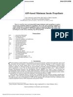 Development of ADN-based Minimum Smoke Propellants