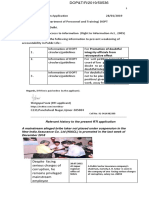 28.01.19 RTI Online DOPT Integrity