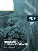 2018 Annual Report - Museum of Human Disease