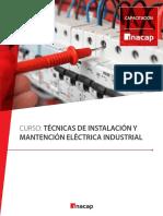 Curso Técnicas de Instalación y Mantención Eléctrica Industrial