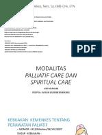 T9 & T10 Modalitas Palliative & Spiritual Care.ppt