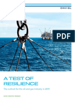 DNV GL Industry Outlook Report 2019 - A Test of Resilience