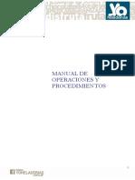 4-Manuales de Operaciones y Procedimientos
