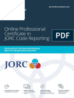 JORC Online Learning Brochure Digital