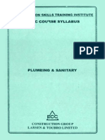 plumbing and sanitary syllabus