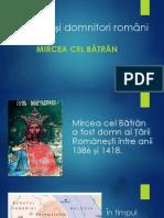 Mircea Cel Bătrân - Cls IV