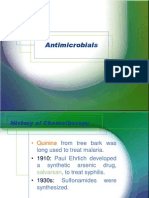 Antimicrobial Susceptibilty Testing