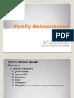 Family Neisseriaceae