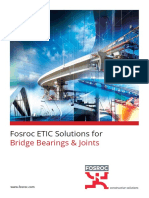Fosroc Bridge Bearing and Joints Brochure