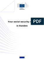 Social security rights in Sweden
