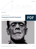 Frankenstein's Scientific Chaoskampf | Church Life Journal