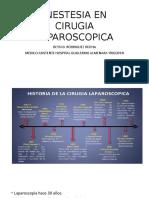 Anestesia Cirugia Laparoscopica