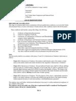 Tender Evaluation Criteria 1