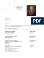 kate berry cv
