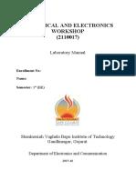 Electronics Workbench Lab 6