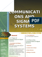 COMMUNICATION AND SIGNAL SYSTEMS