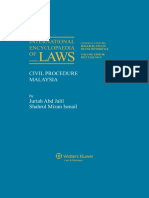 Civil Procedure (Malaysia)-Table of Contents.pdf