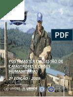 Projecto Post Master Castatrofe 2019