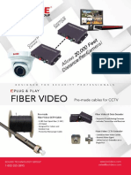 Fiber Video Flyer Bolide
