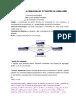 Elementos Da Comunicacao e Funcoes Da Linguagem
