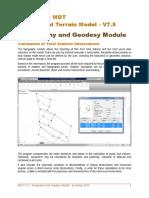 MDT V7.5 Surveying
