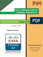 Práctica 6 Instalación de Sistemas Operativos