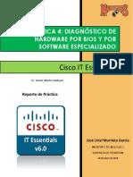 Práctica 4 Diagnóstico de Hardware Por Bios y Por Software Especializado