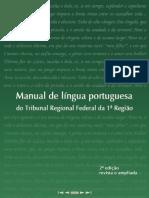Manual de Língua Portuguesa Do Tribunal Federal Da 1ª Região