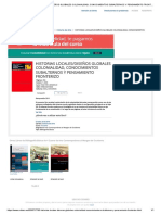 Historias Locales_diseños Globales Colonialidad, Conocimientos Subalternos y Pensamiento Fronterizo