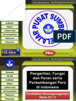 284478727 XII 3 1 Pengertian Fungsi Dan Peranserta Perkembangan Pers Di Indonesia Ppt