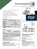 ASCO Valve 8344 Spec R1