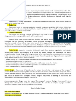 Process Selection Written Report