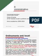 9 Lezioni Di Diritto Amministrativo 10 Novembre 09