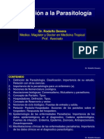 1.Introduccion a La Parasitologia Médica