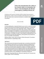 Carvalho, Salo. Crítica e Contracrítica dos Movimentos de Crítica à Dogmática Jurídica in Revista Direitos e Garantias Fundamentais, Vitória, v. 17, n. 1, 2016, pp. 09-48.