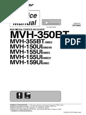 pioneer_mvh-350bt_mvh-150ui_mvh-155ui_mvh-159ui_sm.pdf | Decibel | HertzScribd