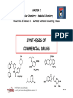 Synthesis of Commercial Drugs 2011-12 - M2 Hanoi