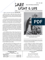 The Rosary, Light & Life - Rosary Confraternity Newsletter - Vol.59n5